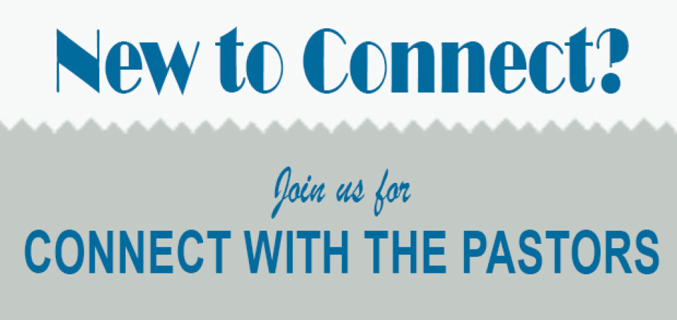 Connect with the Pastors