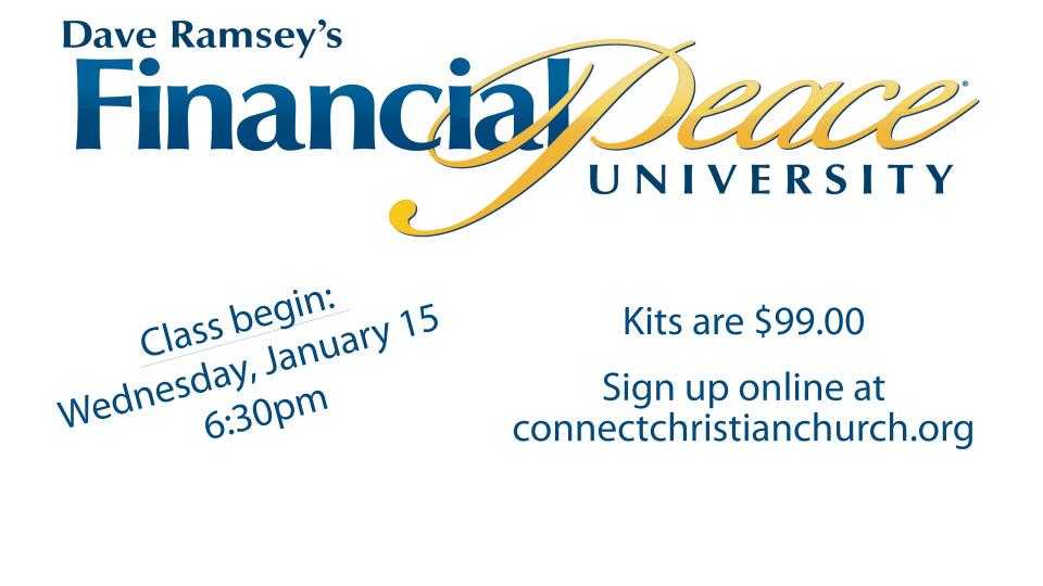 Connect Class, Financial Peace University